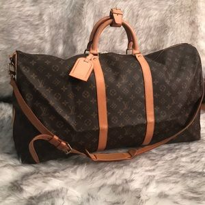 Louis Vuitton Keepall 60 Bandouliere